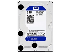 "Western Digital Caviar Blue 3TB 3.5"" Internal Hard Drive - WD30EZRZ"