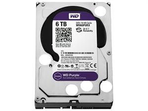 """Western Digital Purple 6TB 3.5"""" Surveillance Hard Drive - WD60PURX/Z"""