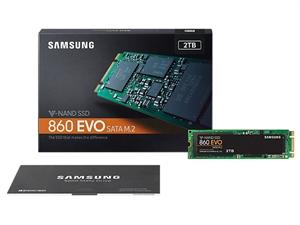 Samsung 860 EVO 2TB M.2 2280 SSD - MZ-N6E2T0BW