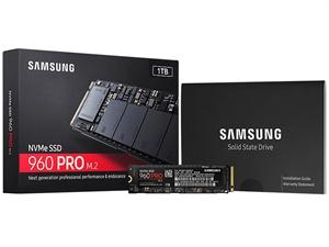 Samsung 960 Pro 1TB M.2 2280 SSD - MZ-V6P1T0BW