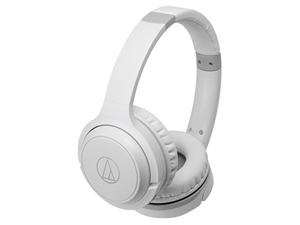 Audio-Technica ATH-S200BT Wireless Over-Ear Headphones - White