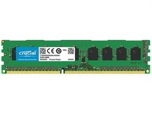 Crucial 4GB DDR3 PC12800 1600MHz CL11 Single Ranked Desktop RAM