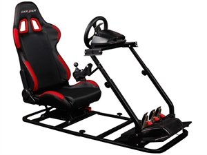 DXRacer Racing Simulator With Seat Combo