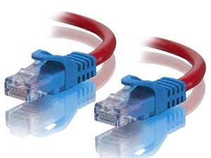 Alogic 5m Red CAT6 Crossover Cable
