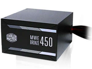 Cooler Master MWE Series 450W 80 Plus Bronze Power Supply