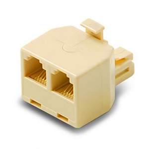 ALOGIC RJ12 Modular Line Splitter - Male to Female
