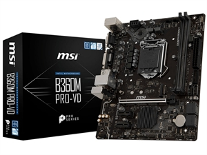 MSI B360M Pro-VD Intel 8th Gen Motherboard