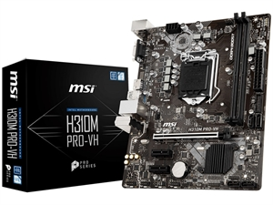 MSI H310M Pro-VH Intel 8th Gen Motherboard