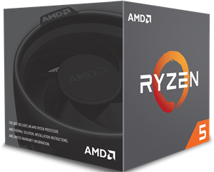 AMD Ryzen 5 2600X 6 Core Processor - YD260XBCAFBOX