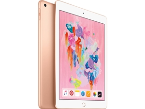 "Apple iPad 9.7"" Tablet 128GB WiFi - Gold(6th Gen. 2018)"