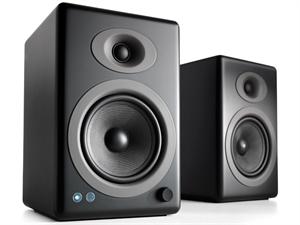 Audioengine 5+ Wireless Powered Speakers (pair) - Satin Black
