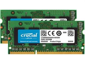 Crucial 16GB (2 x 8GB) DDR3L 1866MHz SODIMM RAM