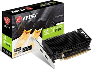 MSI GeForce GT 1030 2GB OC Low Profile Graphics Card