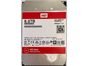 Western Digital WD Red 8TB NAS Hard Drive