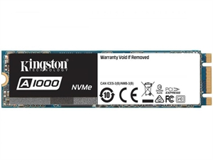 Kingston A1000 480GB M.2 (PCIe) NVMe 2280 3D NAND SSD