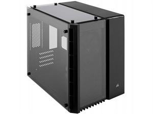 Corsair Crystal 280X Tempered Glass Micro-ATX Case - Black