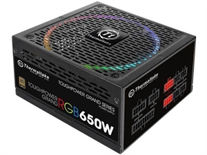 Thermaltake Toughpower Grand RGB 650W Gold Power Supply - RGB Sync Edition