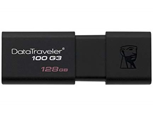 Kingston Datatraveler 100 G3 128GB USB 3.0 Flash Drive