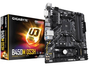 Gigabyte GA-B450M DS3H AM4 mATX Motherboard