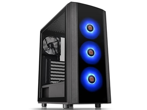 Thermaltake Versa J25 RGB Tempered Glass Mid-Tower ATX Case