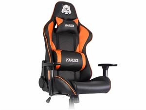 Karuza YX-1216 Gaming Chair - Black/Orange