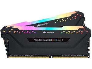Corsair Vengeance RGB PRO 32GB (2x 16GB) DDR4 3200Mhz Desktop RAM - Black