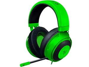 Razer Kraken Tournament Edition Gaming Headset with USB Audio Controller - Green