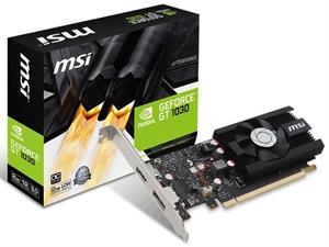 MSI GeForce GT 1030 Low Profile OC 2GB Graphics Card