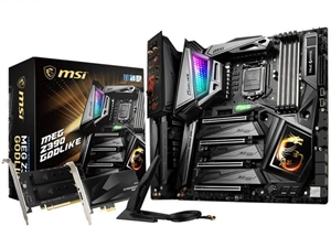 MSI MEG Z390 GODLIKE Intel 8th/9th Gen Motherboard