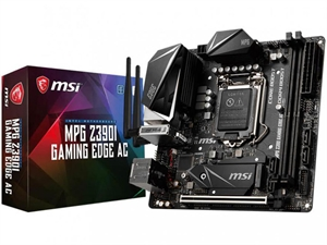 MSI MPG Z390I GAMING EDGE AC Intel 8th/9th Gen Motherboard