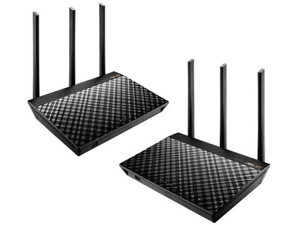 Asus Rt Ac68u Aimesh Ac1900 Whole Home Wifi System Twin